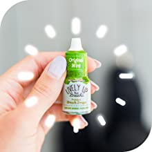 mint, breath freshener, healthy, organic, natural, breath, capsules, packet, gluten free, fresh