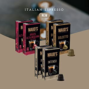 Italian Espresso Capsules Coffee