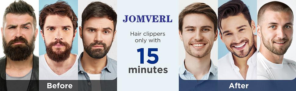 JOMVERL Hair clipper for men