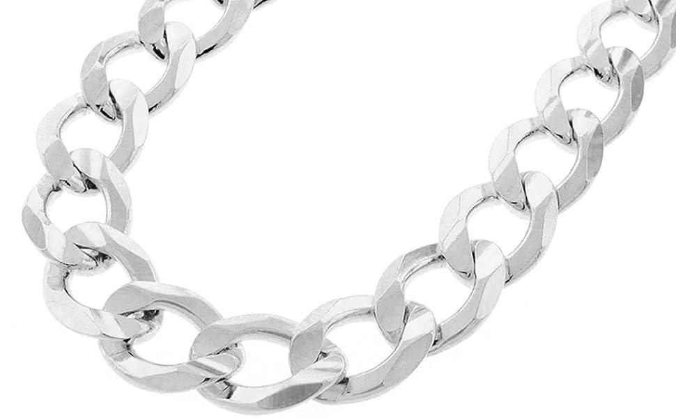 silver cuban chain