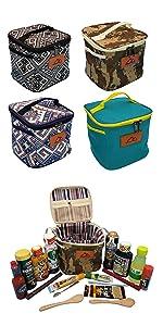 調味料入れ キャンプスパイス キャンプ調味料 小物ケース ツールケース キャンプ用品 アウトドア用品 スパイスボックス アウトドアスパイス ツールボックス 収納ケース キッチン収納バッグ スパイス