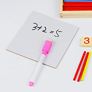 marker and white board