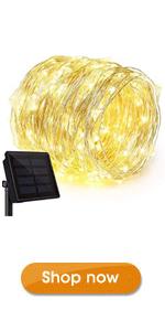 Ankway Solar String Lights Outdoor