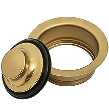 Kitchen Sink Garbage Disposal Flange, Gold