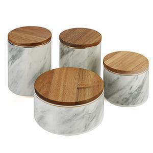 4Pcs Ceramics Storage Jar