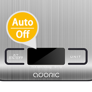 Adoric Weight Scale-Auto off
