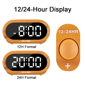 digital alarm clocks bedside