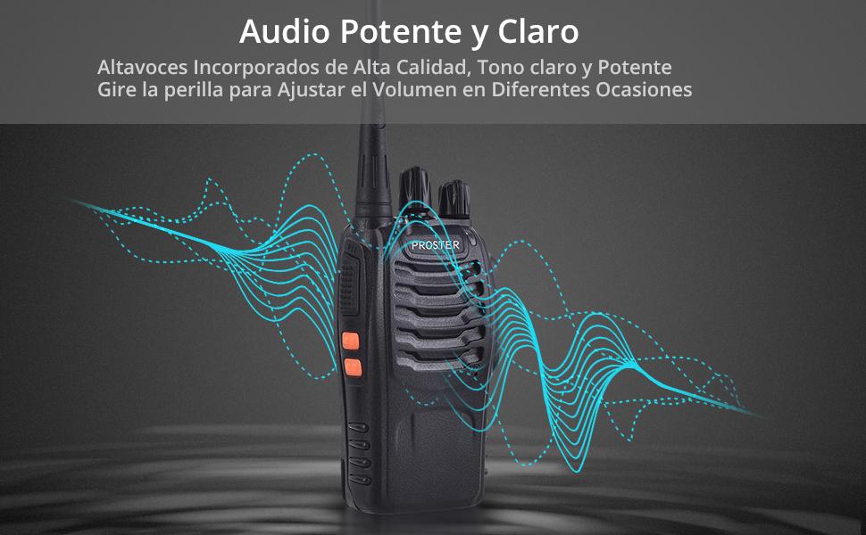 walkie talkie profesional