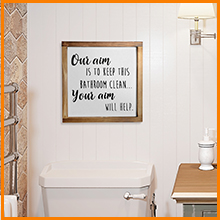 wash your hands and say your prayers sign cuadros de pared de sala funny farmhouse bathroom decor