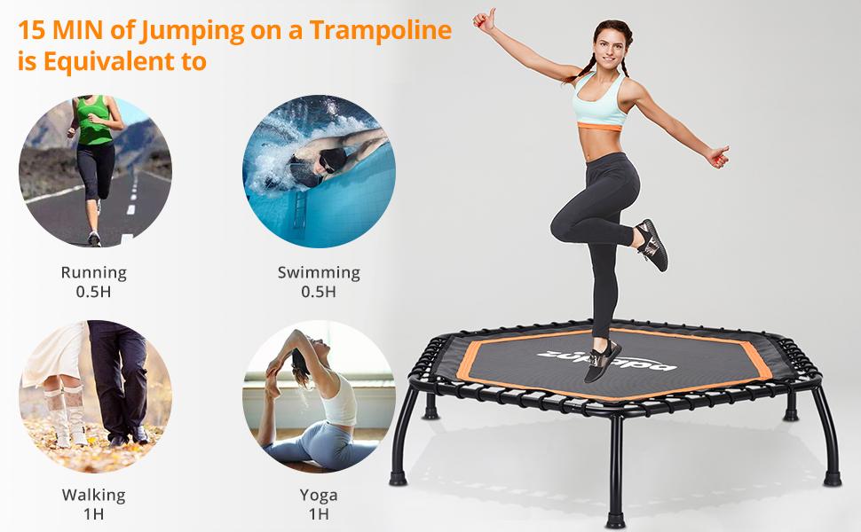 45 Inch Mini Fitness Trampoline