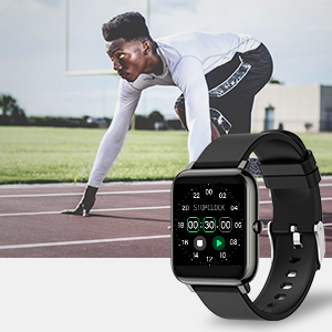 training or workout counted Smart Watch can help you track and optimize your training effect