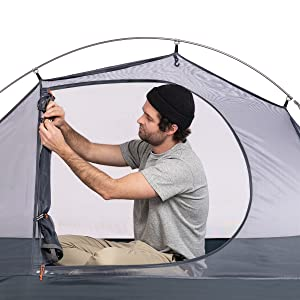 Naturehike Camping Tent 1 Person Ultralight Lightweight Backpacking Cycling Tent bikepacking Hiking