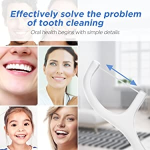 tooth cleaning floss