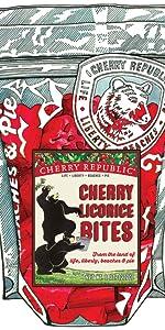 Cherry Licorice Bites
