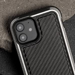 anodized aluminum real genuine metal frame strong durable indestructible black carbon fiber military