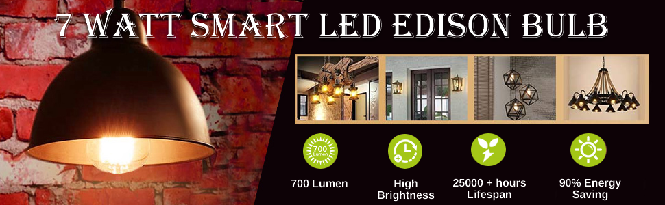 Home Automation, ifi smart life, Edison Bulb, IFITech Smart bulb, LED Bulb, Wifi Bulb