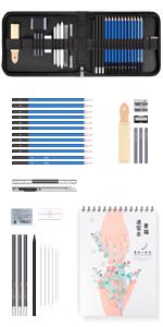 sketching pencils sets