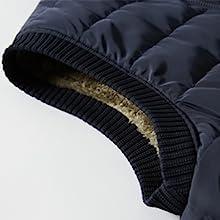 Men's Outdoor Stand Collar Fleece Jacket Vest Casual Padded Vest Coats