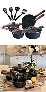 cast granite cookware