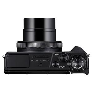 Canon Powershot G7x Mark 3 Top Image