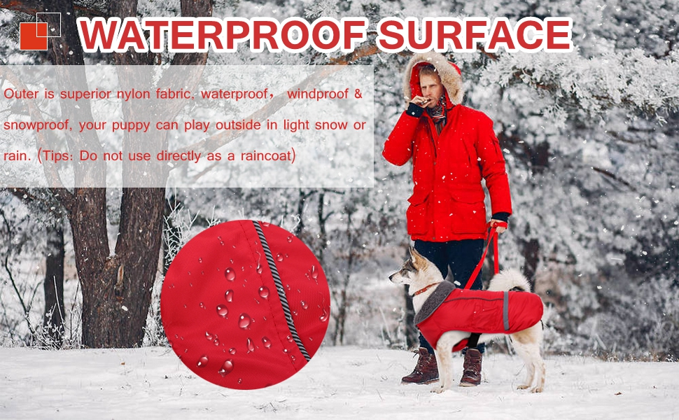dog coat jacket cold weather apparel custumes outfit waterproof vest