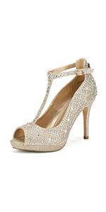 women's peep toe pumps