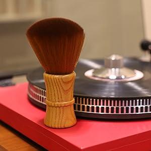 record vinyl cleaner turntable dust brush