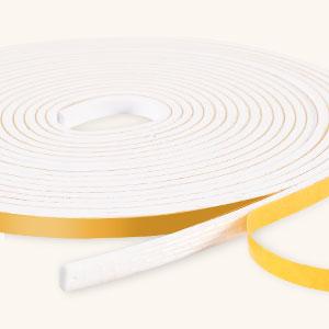 RATEL Tira de Sellado Junta 6 mm (W) * 3 mm (H) * 18 m (L) con Tijeras * 1, Tiras de Sellado Autoadhesivas Anticolisión y Aislamiento Acústico para Grietas y Espacios (Blanco): Amazon.es: Bricolaje y herramientas