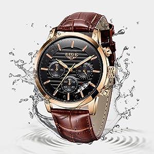 waterproof watch for men