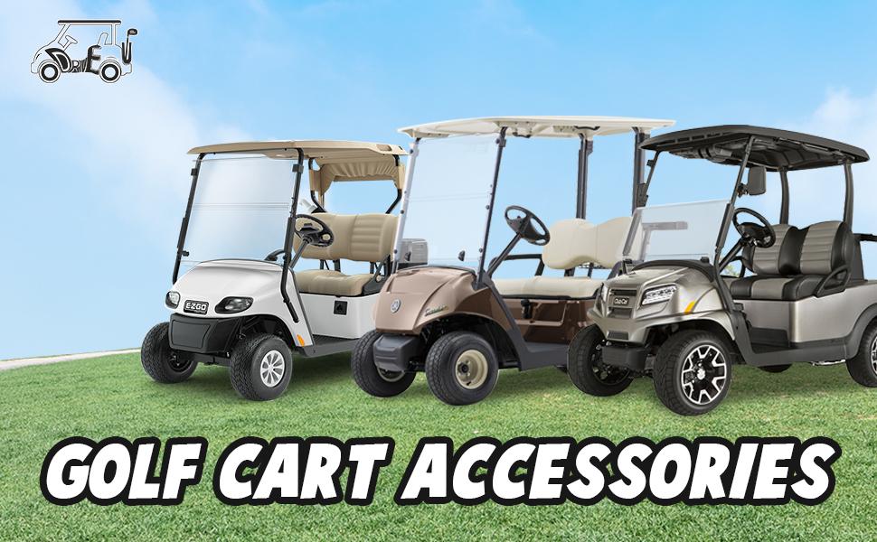 Drive-up Golf Cart Accessories