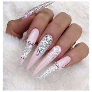 XL stiletto nails