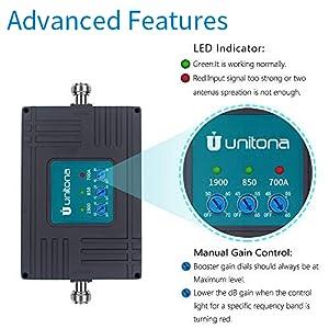 use uunitona cell booster