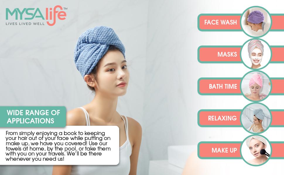 microfiber hair towel for curly hair microfiber hair towel long hair towel hair wraps for women