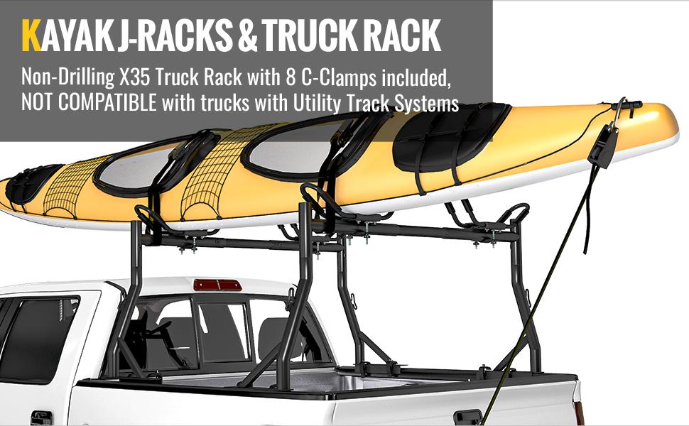 J-Bar Kayak Rack