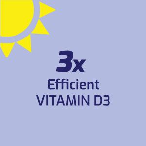 3x Efficient Vitamin D3