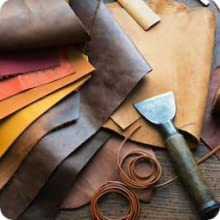 Real Leather Work Apron