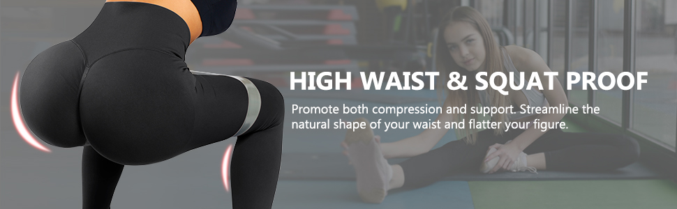 high waisted seamless leggings