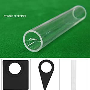 Multifunction Billiard Aiming Practice Tool awstroe Adjustable Durable Billiard Stroke Exerciser Detachable for Snooker Nine Balls