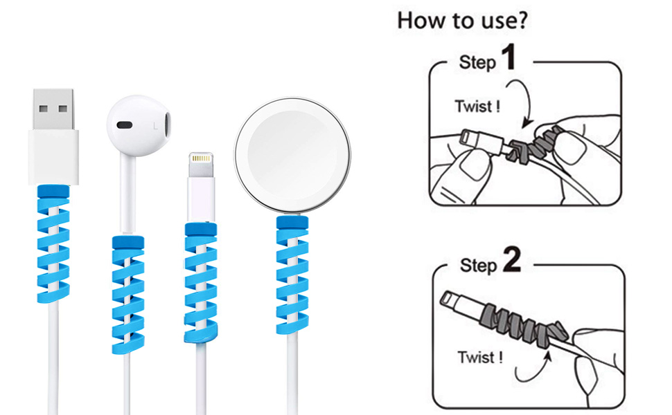 cable protector for iPhone charger cable