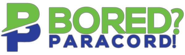 bored paracord logo 550 paracord