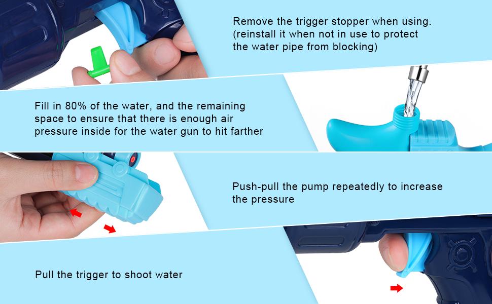 super soaker water guns for kids adults