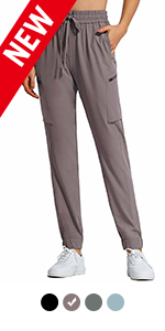 Women's Cargo Pants with 7 Pockets