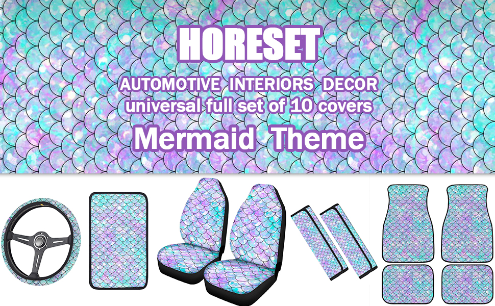 Horeset full set of car accessories