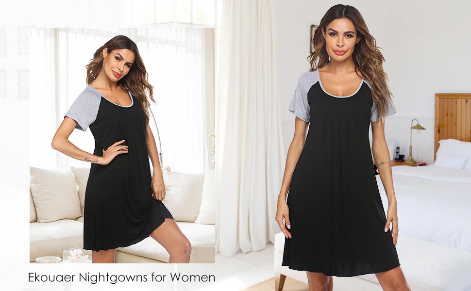 Black sleepwear for women