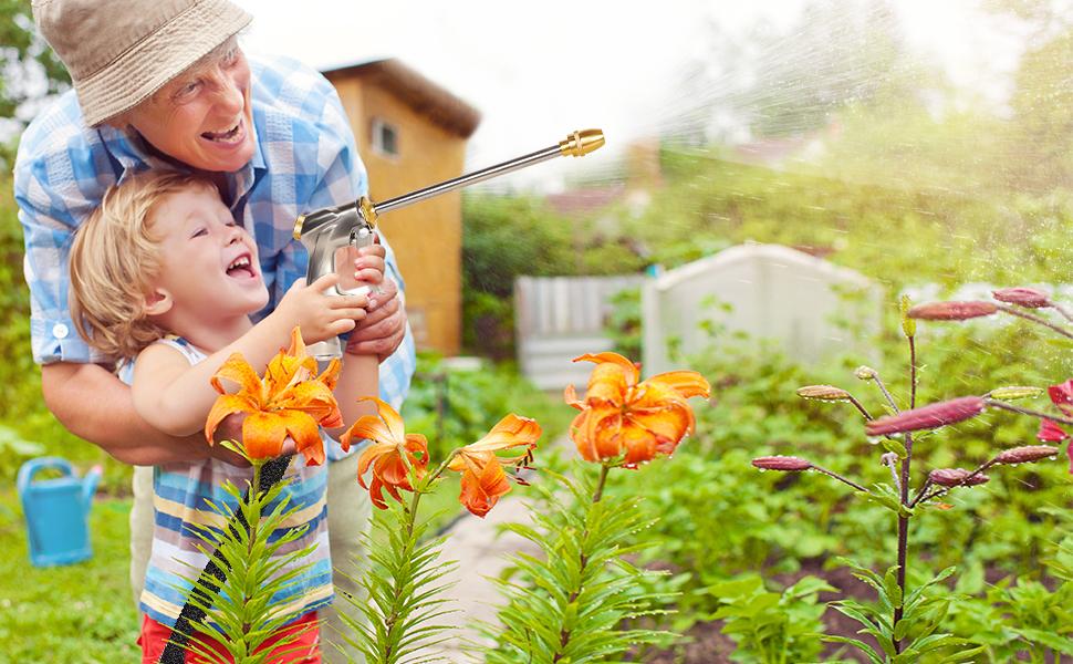 LUCKYERMORE Lightweight Garden Hose Make The Life Easier