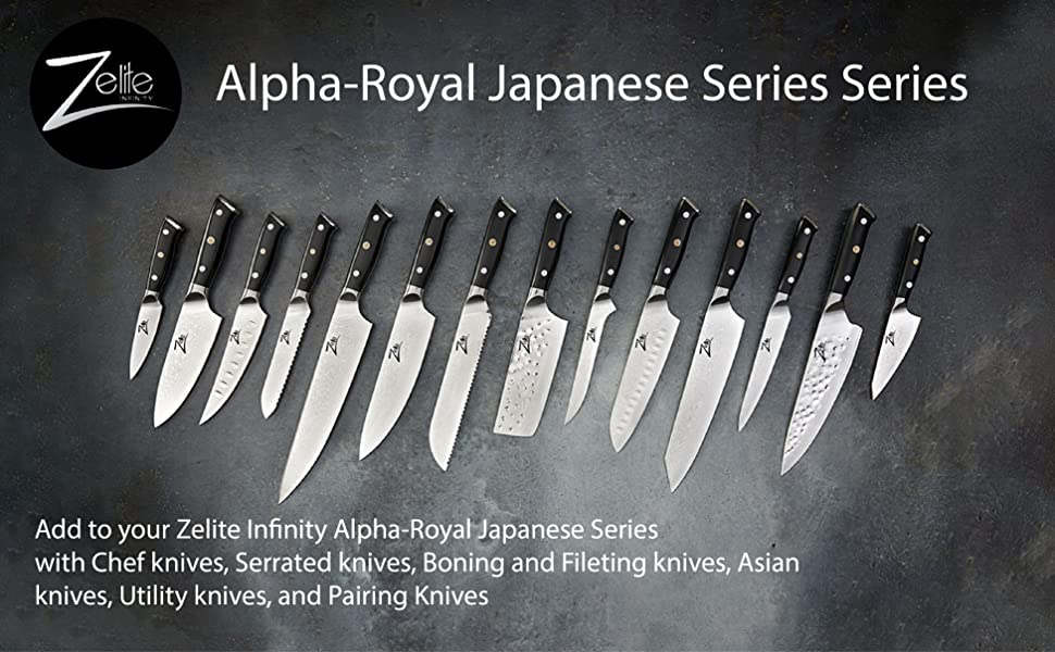 zelite infinity chef knives chef knife japanese damascus AUS10 high carbon stainless steel sharp