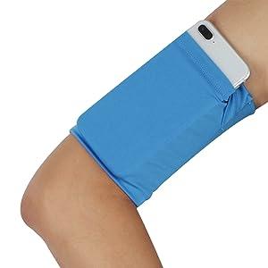 running armband wristband for keys phone