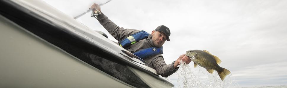Fishing boating pfd life jacket life vest