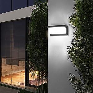 LED Luz pared corredor impermeable LED Luz pared impermeable impermeable Luz pared fuera impermeable