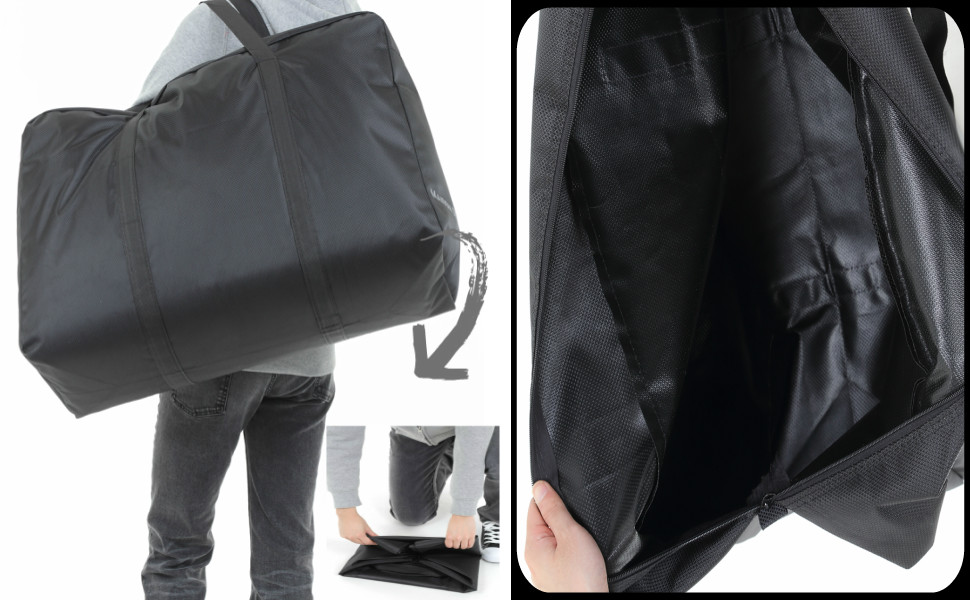 袋,収納,キャンプ,バッグ,大型収納,トートバッグ,折りたたみ,特大バッグ